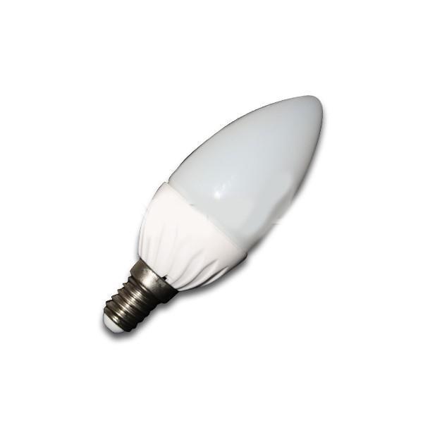 Bec LED - 4W E14 Lumanare Alb Rece