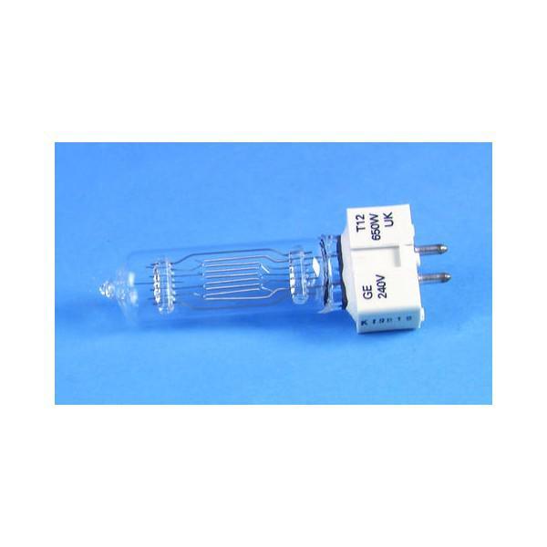 Lampa GE T12 240V/650W GX-9,5 750h Longlife