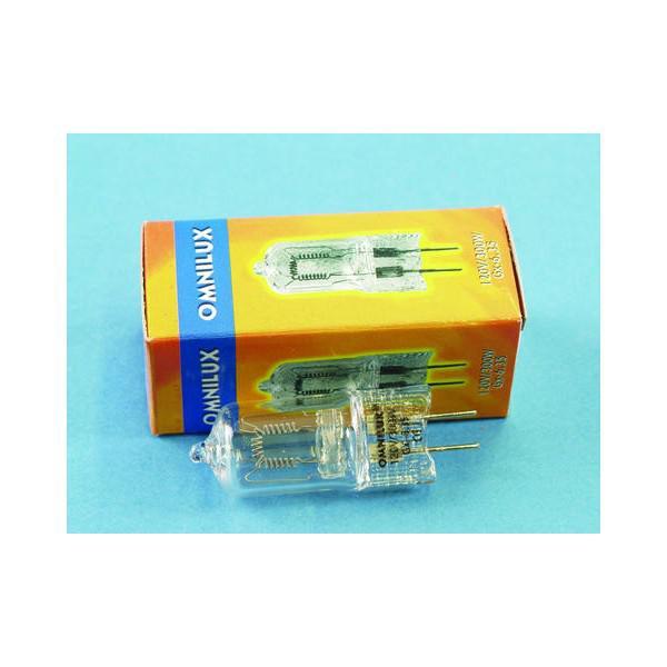 Lampa OMNILUX 120V/300W GX-6,35 75h 3200K