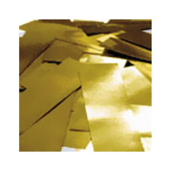 Showtec FX Confetti 80cm Gold Metallic - Showtec FX Confetti 80cm Gold Metallic