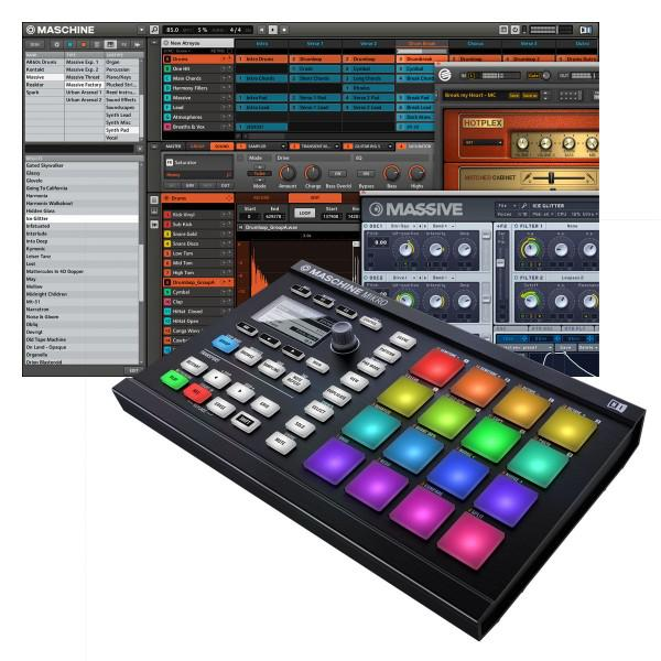 Native-Instruments Maschine Mikro Mk2 Black