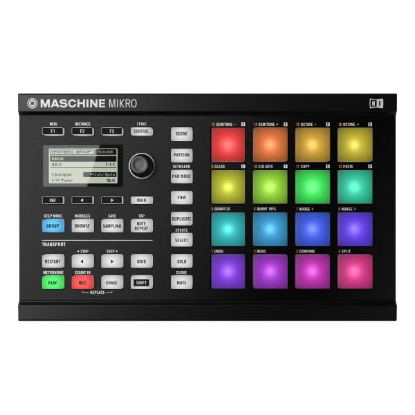 Native-Instruments Maschine Mikro Mk2 Black - Native-Instruments Maschine Mikro Mk2 Black