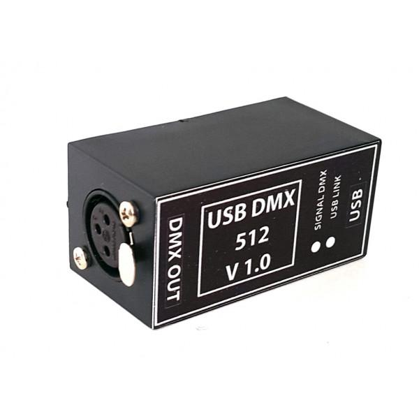 Interfata USB DMX 512 v1.0