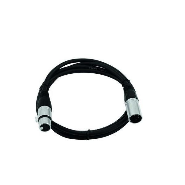 Cablu DMX FP-10 XLR 5 pini 1m