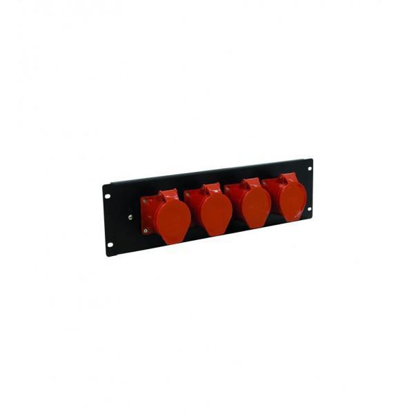EUROLITE PDM 3U-4CEE 32A/5 PINS MODUL PANOU ELECTRICe