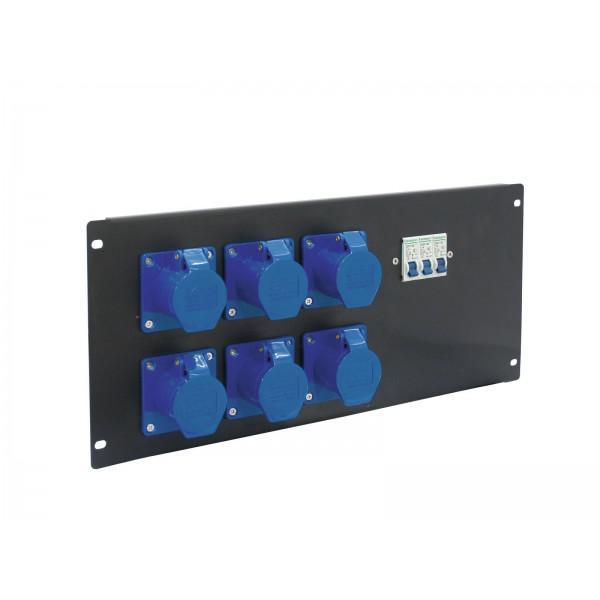 Distribuitor EUROLITE PDM 5U-6CEE 16A 3pini