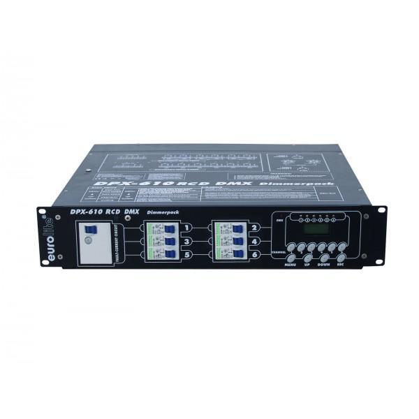 Dimmer Eurolite DPX-610 RCD DMX