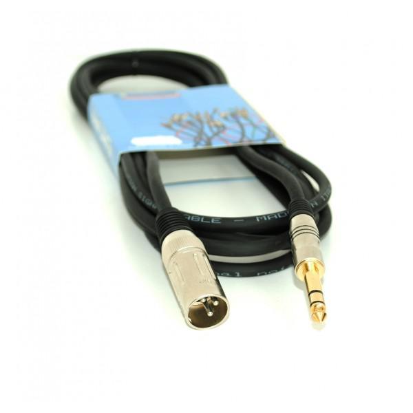 Cablu Jack st.- XLR tata - 5m - Made in ITALY