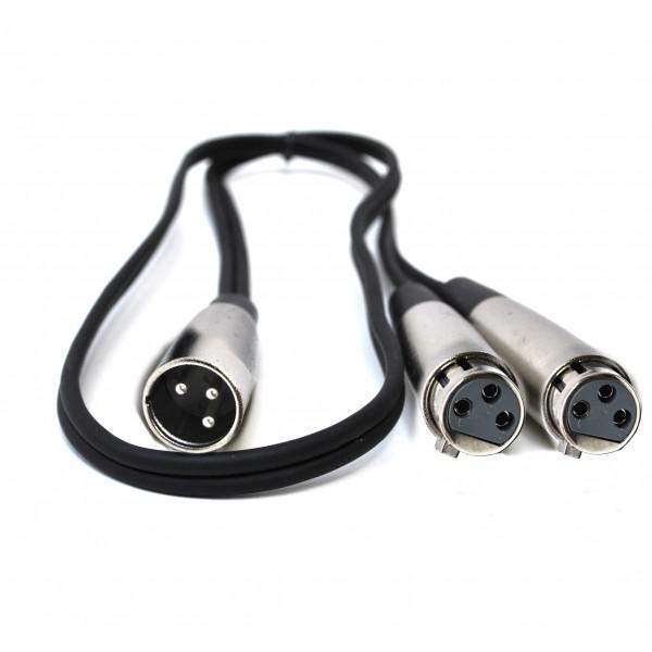 Cablu adaptor Y - XLR