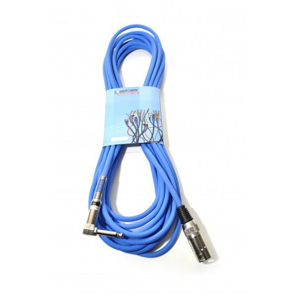Cablu JACK - XLR (tata) - 5m - Made in ITALY