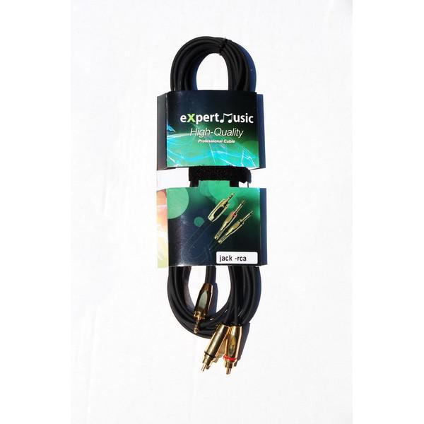 Cablu Jack 3.5 mm - 2RCA 3m