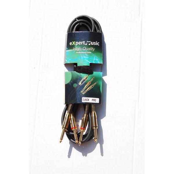 Cablu 2 Jack - 2Jack 5m PRO