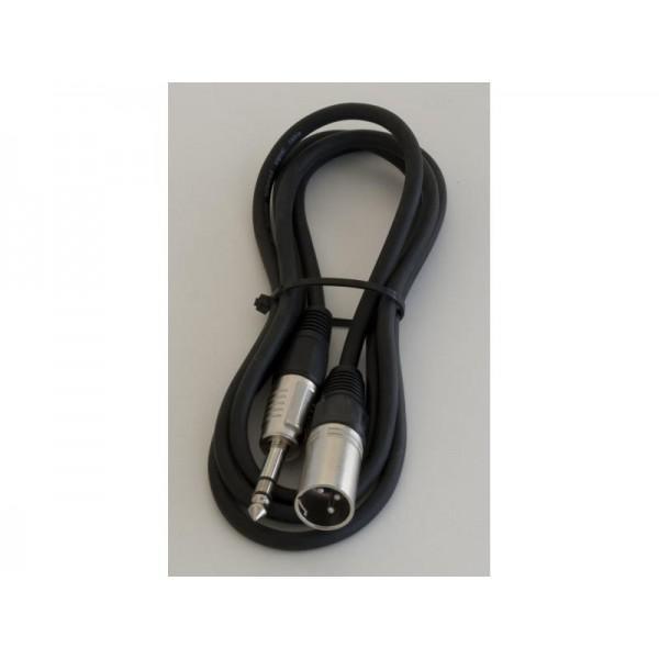 Cablu XLR TATA-JACK TATA 0.5M