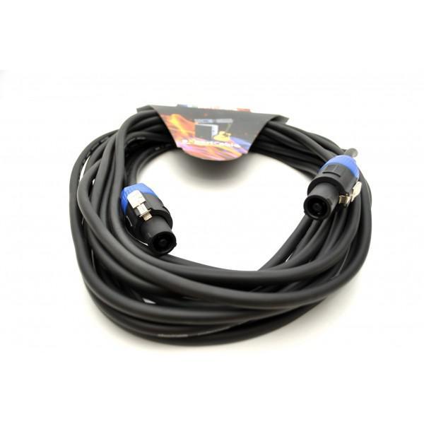 Cablu Speakon-Speakon (2x1,5mm) eXpertCable 10m