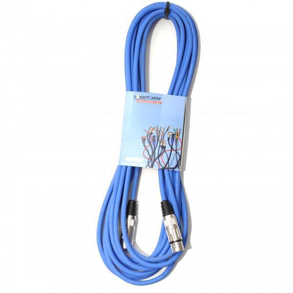 Cablu XLR -XLR Albastru eXpertCable 10M