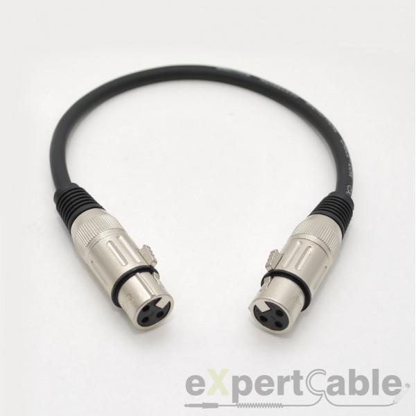 Cablu XLR-XLR (mama) 30cm