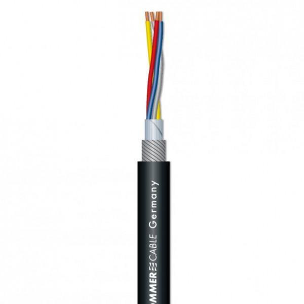 Cablu microfon SC Square 4-Core MKII - Negru