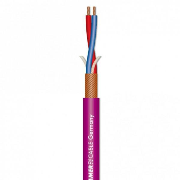 Cablu Microfon Stage Highflex Sommer Cable - Roz