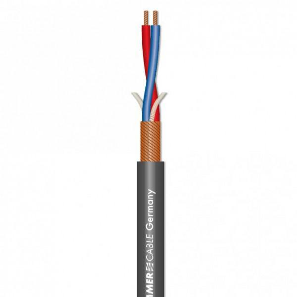 Cablu Microfon Stage Highflex Sommer Cable - Gri