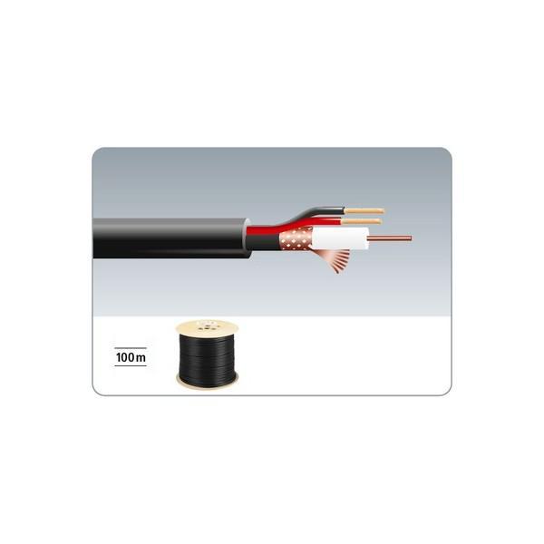 Cablu video cu alimentare VSC-103/SW