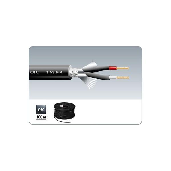 Cablu microfon monacor MLC-122/SW