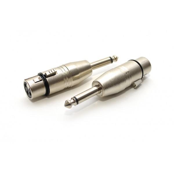 Adaptor XLR(mama)-Jack(tata 6,3mm)
