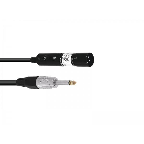Adaptor Jack(6,3mm)-XLR(tata) - Adaptor Jack(6,3mm)-XLR(tata)