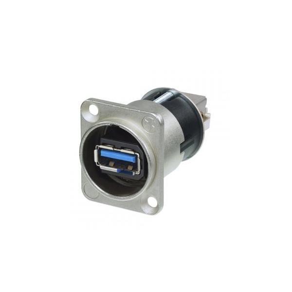 Neutrik USB-A Rotativ la USB-B 180 ┬░, mufa mama