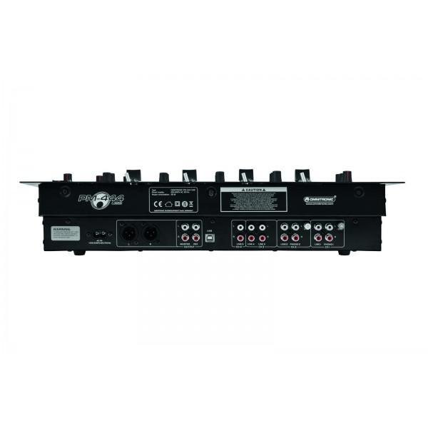 Mixer Dj OMNITRONIC PM-444USB - Mixer Dj OMNITRONIC PM-444USB