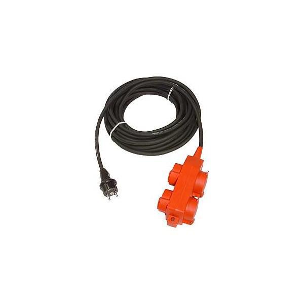 Cablu Alimentare 10m, 4 PRIZE