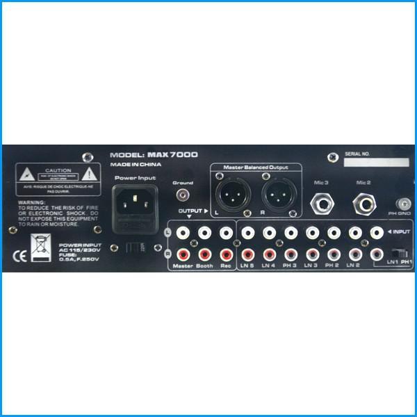 Mixer DJ USBlaster Max7000 - Mixer DJ USBlaster Max7000