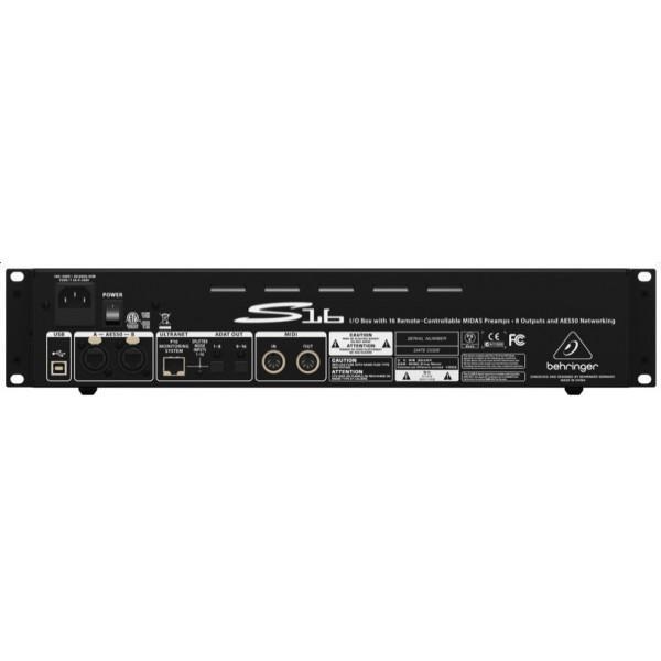 Digital Snake / Stagebox Behringer S16 - Digital Snake / Stagebox Behringer S16