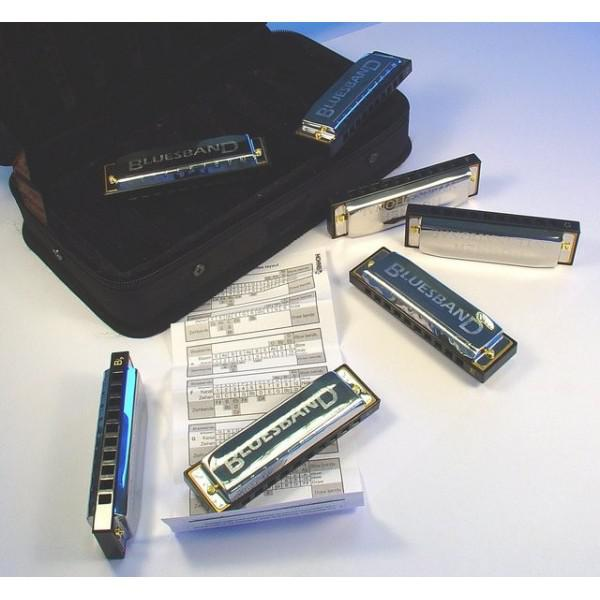 MUZICUTE HOHNER BLUES HARMONICA SET
