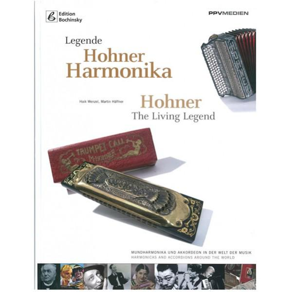 Carte Muzicuta Hohner Harmonika  - The Living Legend