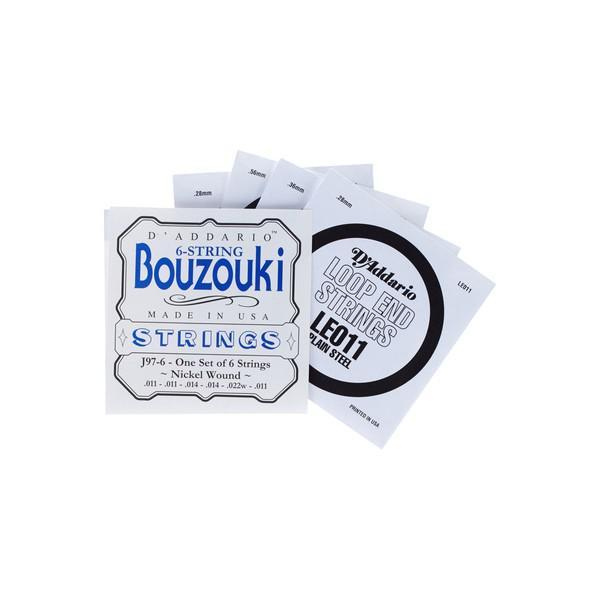 Corzi Bouzouki Daddario J97-6