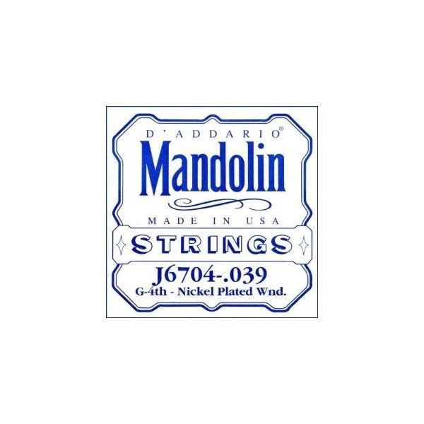 Coarda Mandolina Daddario J6704  Sol
