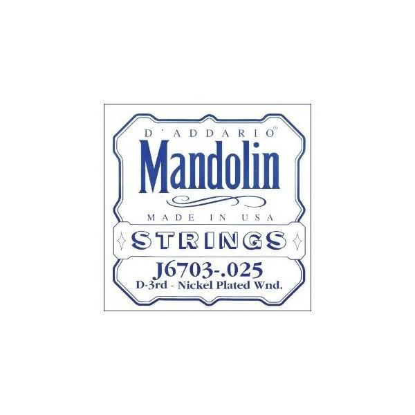 Coarda Mandolina Daddario J6703 coarda Re