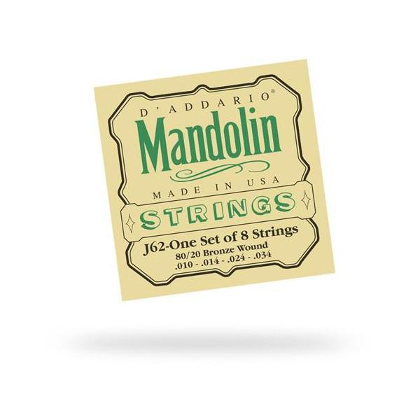 Coarda Daddario Mandolina G (Sol) - J6204