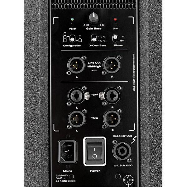 Subwoofer Activ HK Audio L Sub 1200 A Linear 5 - Subwoofer Activ HK Audio L Sub 1200 A Linear 5