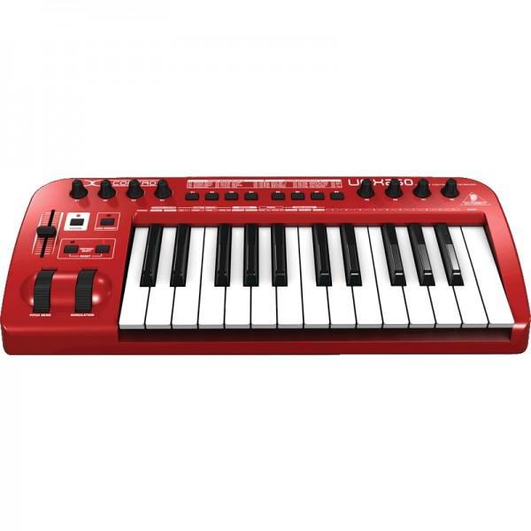 CLAVIATURA MIDI BEHRINGER U-CONTROL UMX250
