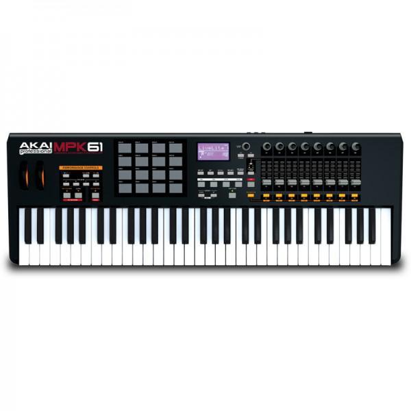 CLAVIATURA MIDI AKAI MPK61