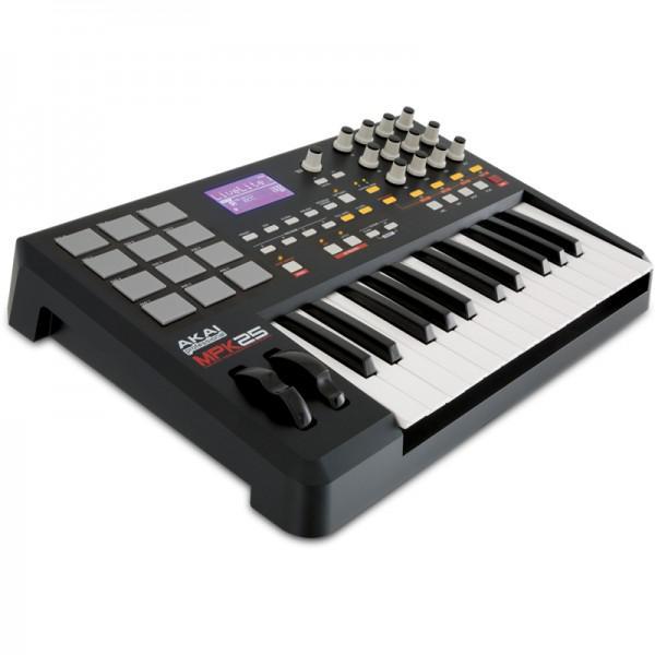 CLAVIATURA MIDI AKAI MPK25