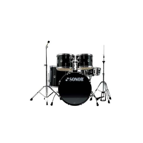 Tobe Acustice Sonor 507 Force Combo Drum Set - Black