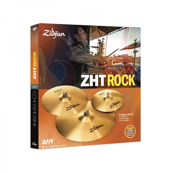 SET CINELE ZILDJIAN ROCK 4 SET CINELE ZHT