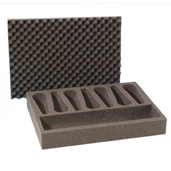 Foam Adam Hall - Burete pentru case de 7 microfoane