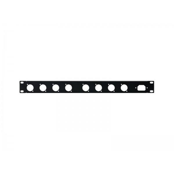 PANOU RACK STAGE LINE RCP-8734U 8 XLR 1U