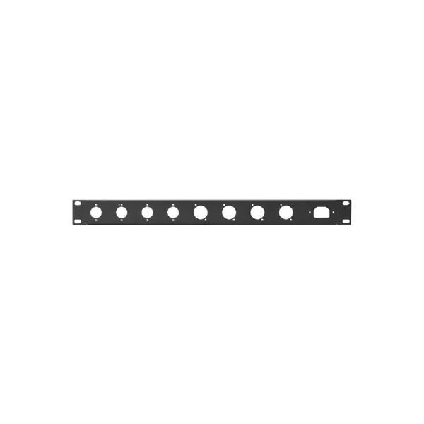 Panou Rack Perforat (XLR plug, XLR jack, 3-pin IEC)
