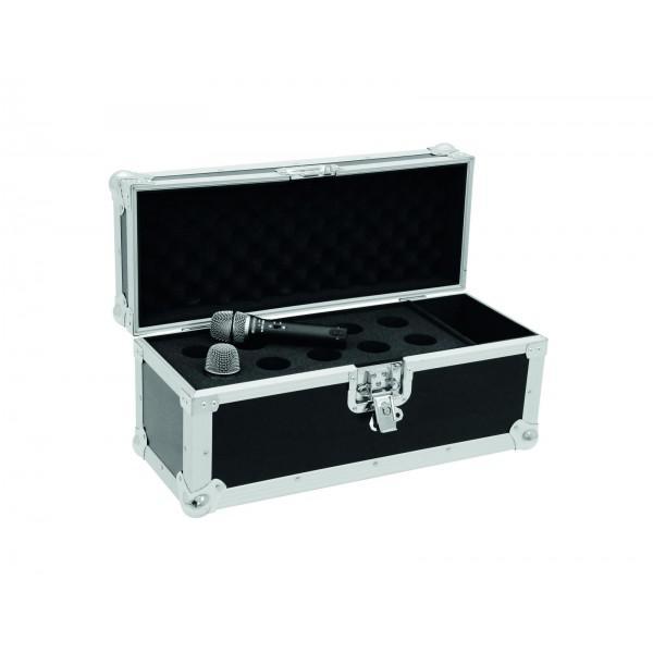 Case transport pentru 10 microfoane