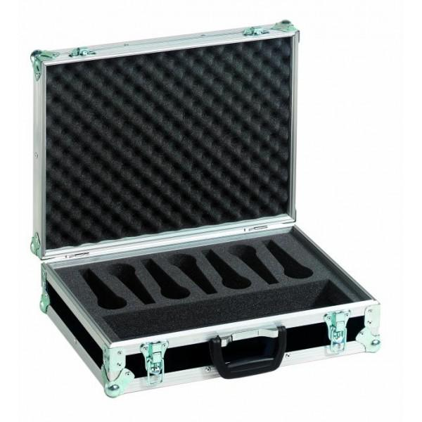 Case transport pentru 7 microfoane