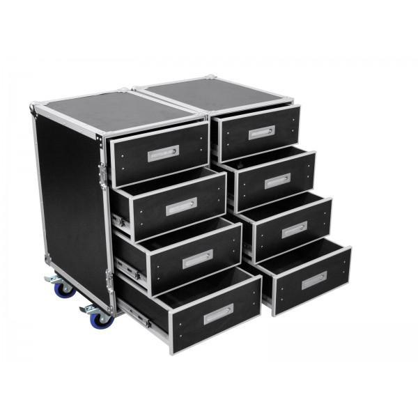 ROADINGER Universal-Roadie-Case Double Drawer DD-2